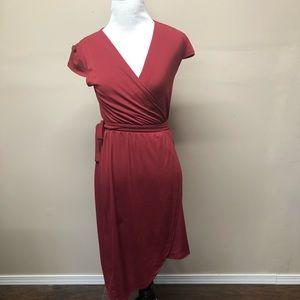 ModCloth Fervour Faux Wrap Dress Size XS